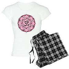 Aum Lotus Mandala (Pink) Pajamas