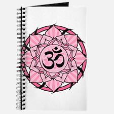 Aum Lotus Mandala (Pink) Journal