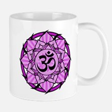 Aum Lotus Mandala (Purple) Mug