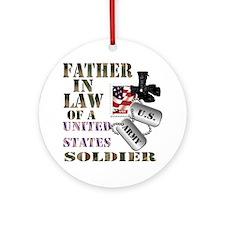 Father In Law Ornament (Round)