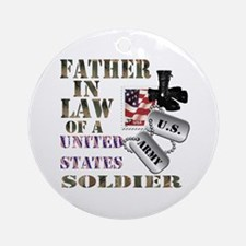 Father In Law Ornament (Round)
