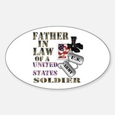 Father In Law Oval Decal