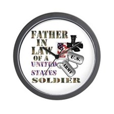 Father In Law Wall Clock