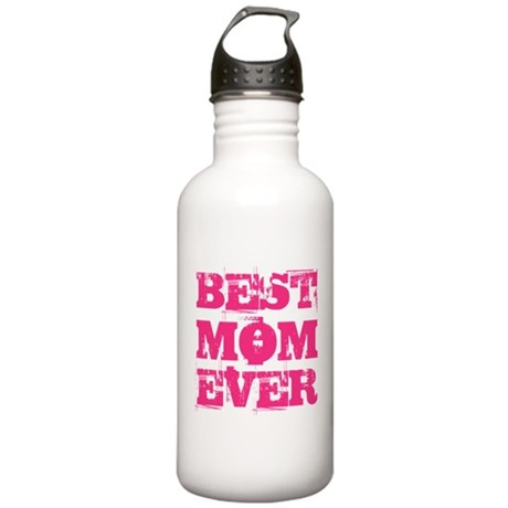 Best Mom Ever Grunge Stainless Water Bottle 1.0L