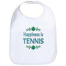 Happiness Tennis Bib