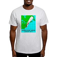 Hurricane Irene Path August 2011 T-Shirt