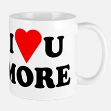 I Love You More shirt Small Small Mug
