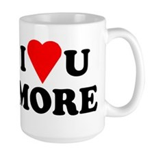 I Love You More shirt Mug