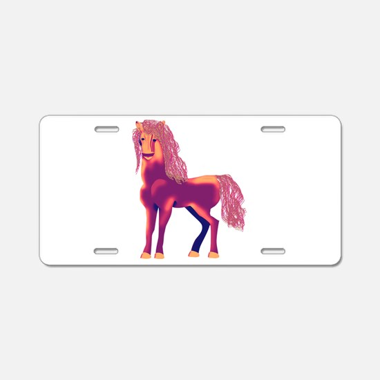 Lucky mare Aluminum License Plate