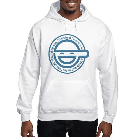 The Laughing Man Hooded Sweatshirt