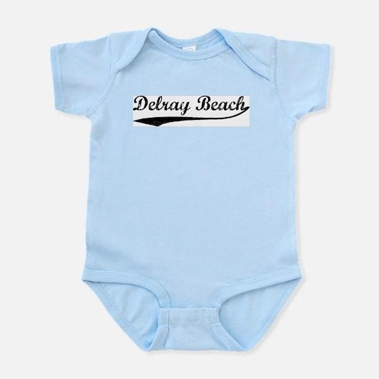 Vintage Delray Beach Infant Creeper