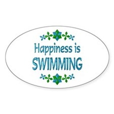 Happiness Swimming Decal