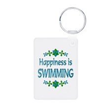 Happiness Swimming Keychains