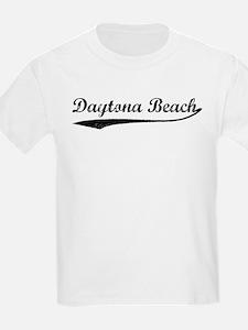 Vintage Daytona Beach Kids T-Shirt