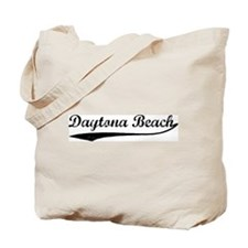 Vintage Daytona Beach Tote Bag
