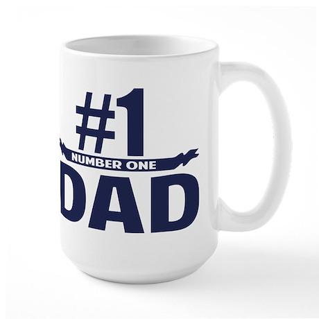 Number 1 DAD Large Mug