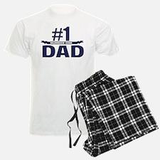 Number 1 DAD Pajamas