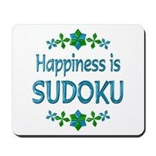 Happiness Sudoku Mousepad