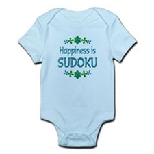 Happiness Sudoku Infant Bodysuit