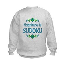 Happiness Sudoku Sweatshirt