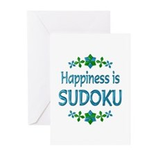 Happiness Sudoku Greeting Cards (Pk of 20)