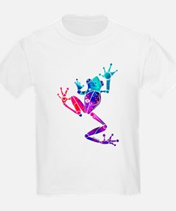 Crazy Purple Tree Frog T-Shirt