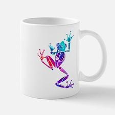 Crazy Purple Tree Frog Mug