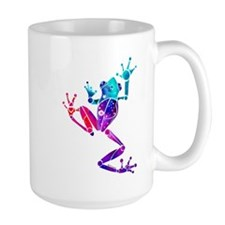 Crazy Purple Tree Frog Mug