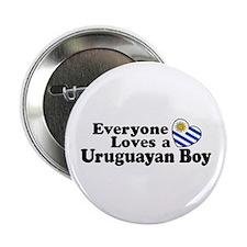 "Uruguayan Boy 2.25"" Button"