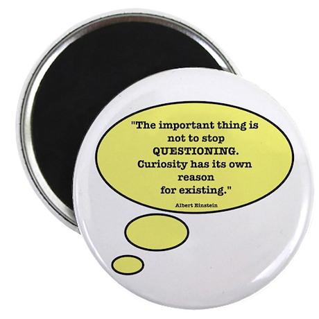 Einstein & Curiosity Magnet