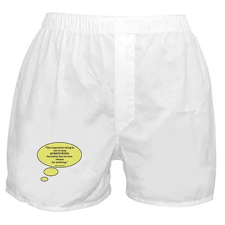 Einstein & Curiosity Boxer Shorts