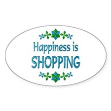 Happiness Shopping Decal