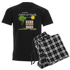 Artist at Work Shop Pajamas