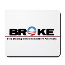 Stop the Spending Mousepad