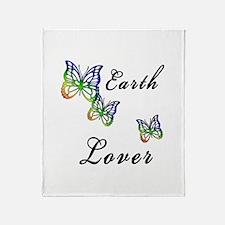 Earth Lover Throw Blanket