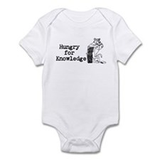 """""""Hungry for Knowledge"""" Infant Onesie"""