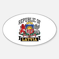 Republic of Latvia Decal