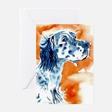 English Setter Greeting Cards (Pk of 10)