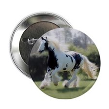 "Gypsy Horse Mare 2.25"" Button"