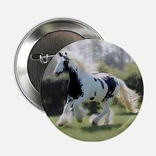 """Gypsy Horse Mare 2.25"""" Button"""