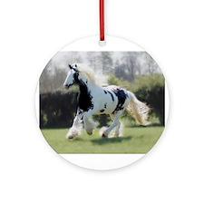 Gypsy Horse Mare Ornament (Round)