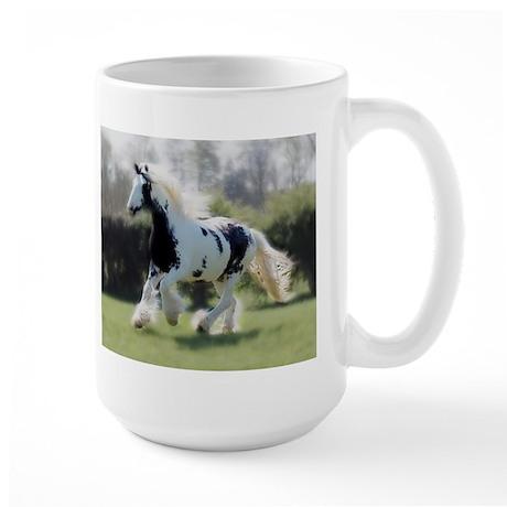 Gypsy Horse Mare Large Mug
