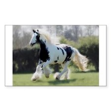 Gypsy Horse Mare Decal