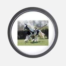Gypsy Horse Mare Wall Clock