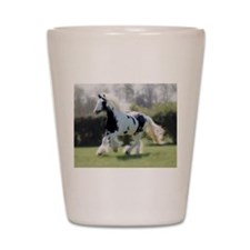 Gypsy Horse Mare Shot Glass