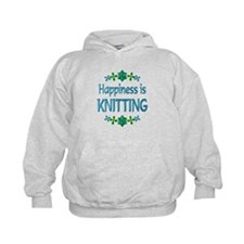 Happiness Knitting Hoodie