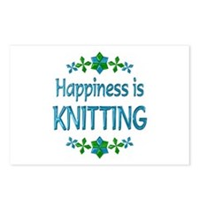 Happiness Knitting Postcards (Package of 8)