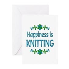 Happiness Knitting Greeting Cards (Pk of 10)