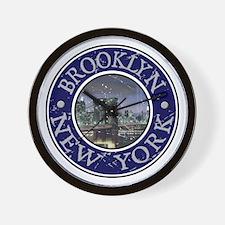 Brooklyn, New York Wall Clock