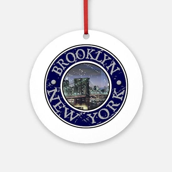 Brooklyn, New York Ornament (Round)